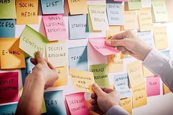 organisation créative - creative organization